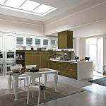 Neoclassical style kitchen